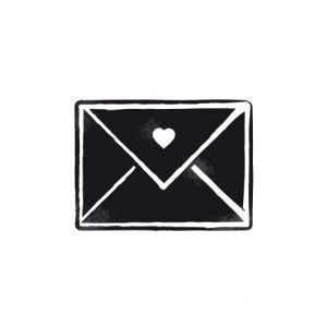 Love envelope – vintage