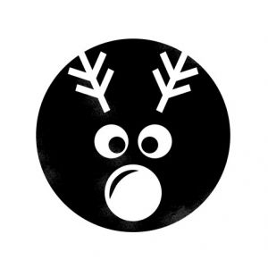 Rudolph – Nose glow in the dark