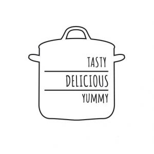 Tasty delicious yummy – cooking pot