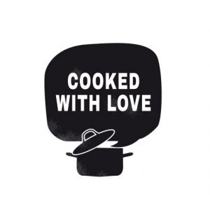Cooked with love – cooking pot