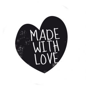 Made with love – heart