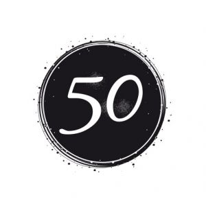 Birthday Badge – 50