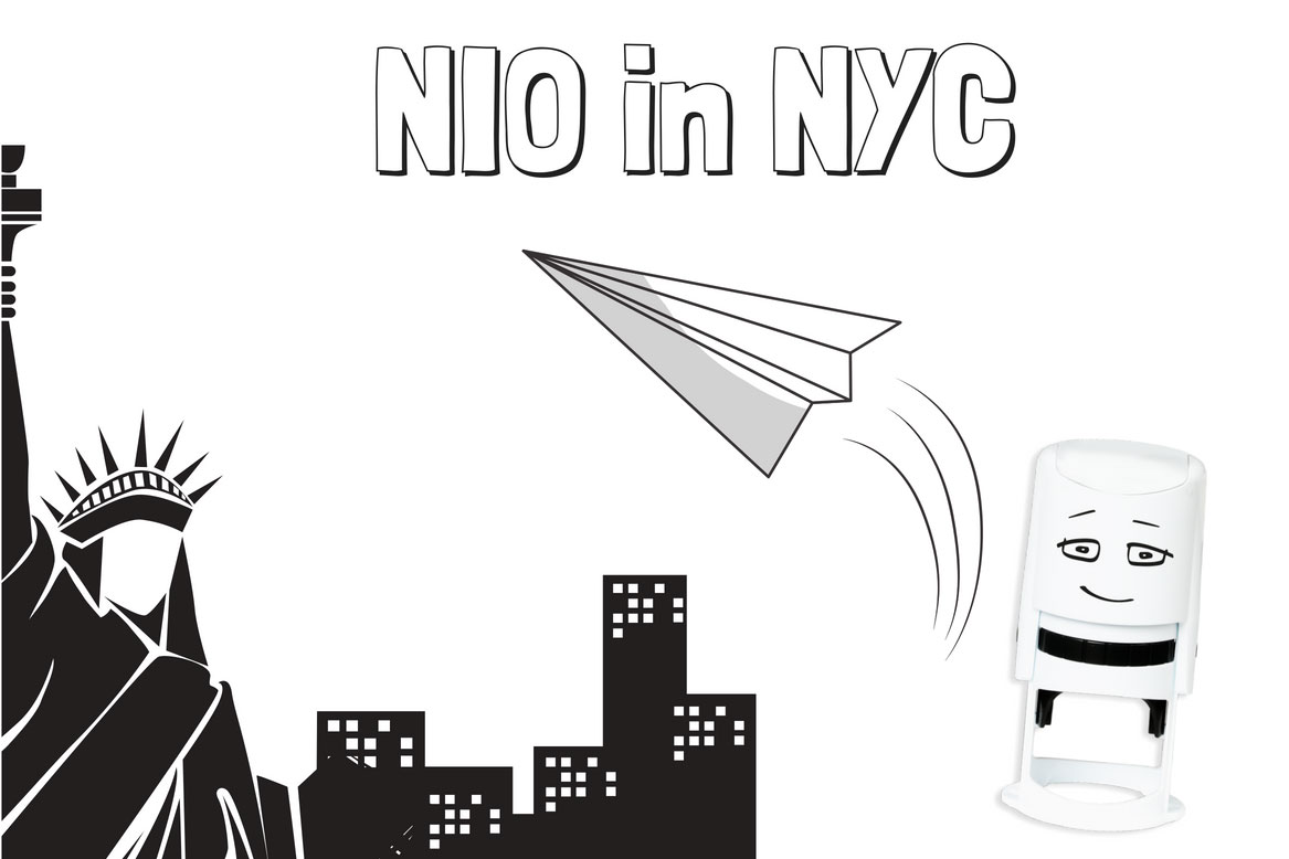 NIO goes TO NYC
